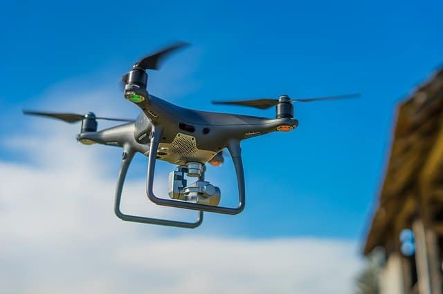 What are the basic parts of a drone