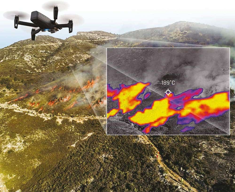 How Drones use Infrared Cameras in this High Tech World